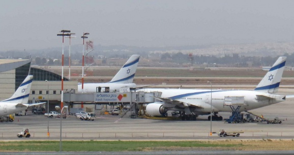 Самолеты в Тель-Авиве Tim