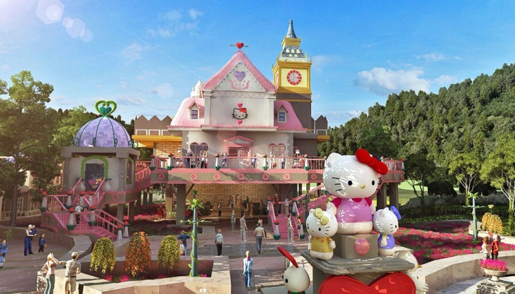 Чжэцзян: Hello Kitty Park